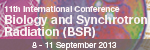 11th International Conference on Biology and Synchrotron Radiation (BSR)